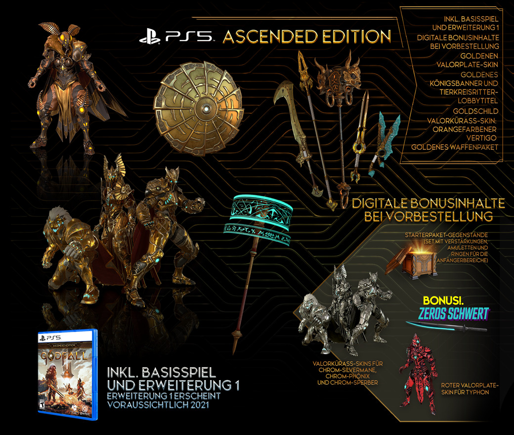 Pre-purchase - Ascended Edition - PlayStation®5