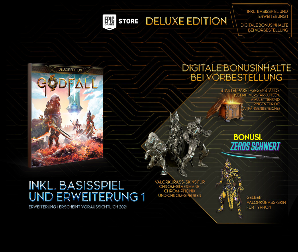 Pre-purchase - Deluxe Edition - PC