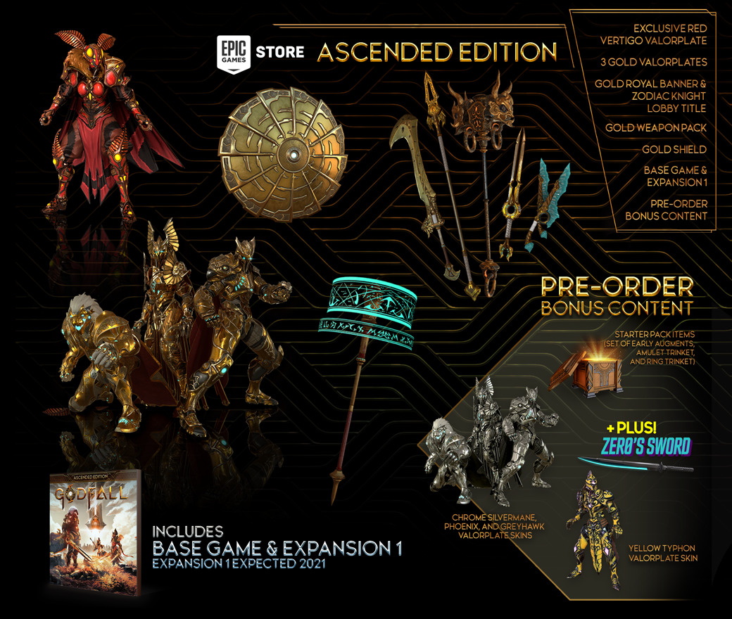 Pre-purchase - Ascended Edition - PC